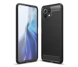 Etui / obudowa na smartfona Tech-Protect TPUcarbon do Xiaomi Mi 11 Lite czarny