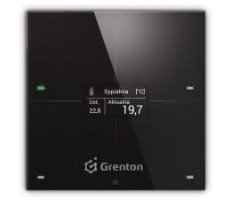 Inteligentny sterownik Grenton SMART PANEL 4B, OLED, TF-Bus, czarny