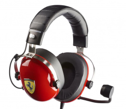 Słuchawki przewodowe Thrustmaster Gaming T.Racing Scuderia Ferrari DTS
