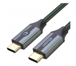 Kabel USB Unitek USB-C - USB-C (10Gbps, 4K/60Hz, 100W, Video)
