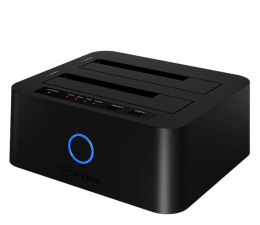 """Obudowa dysku ICY BOX Stacja klonująca 2x 2.5/3.5"""" SATA JBOD USB 3.0"""