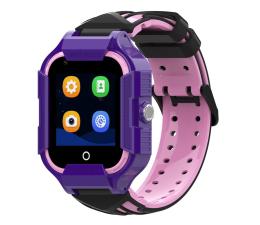 Smartwatch dla dziecka Garett Kids Neon 4G fioletowy