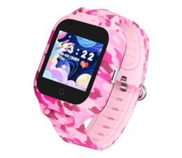 Smartwatch dla dziecka Garett Kids Moro 4G różowy