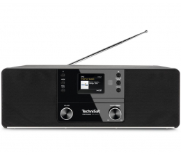 Radio internetowe TechniSat DIGITRADIO 370 CD IR Czarne