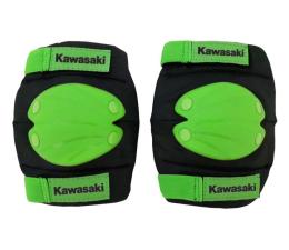 Ochraniacz/kask Kawasaki Ochraniacze łokcie i kolana zielono-czarne S