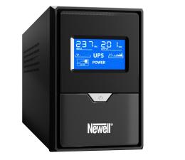 Zasilacz awaryjny (UPS) Newell UPS U650/1 (650VA/390W, 2x Schuko, LCD)