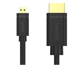 Kabel HDMI Unitek Kabel micro HDMI - HDMI 2.0 (4k/60Hz, 2m)