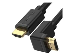 Kabel HDMI Unitek Kabel kątowy 270° HDMI 2.0 - HDMI (4k/60Hz) 2m