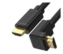 Kabel HDMI Unitek Kabel kątowy 90° HDMI 2.0 - HDMI (4k/60Hz) 3m