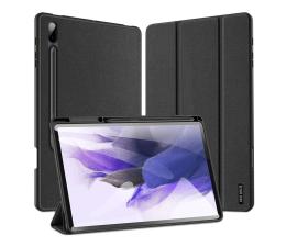 Etui na tablet Duxducis Domo do Galaxy Tab S7 FE T730/T736 czarny