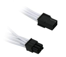 Kabel ATX/Molex Bitfenix Przedłużacz 6-Pin PCIe 45cm Biały