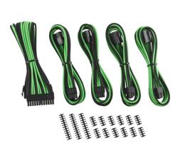 Kabel SATA CableMod ModMesh Cable Extension Kit -8+8 Czarno-Zielone