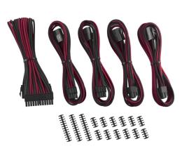 Kabel SATA CableMod ModMesh Cable Extension Kit -8+8 Czarno-Czerwone