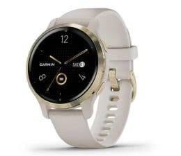 Zegarek sportowy Garmin Venu 2S jasnozłoty
