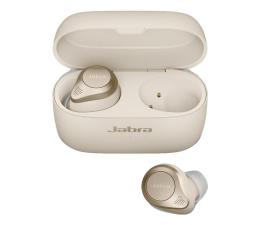 Słuchawki bezprzewodowe Jabra Elite 85t złoto - beżowe
