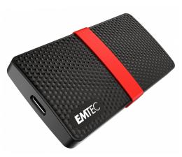 Dysk zewnętrzny SSD EMTEC Portable X200 1TB USB 3.2 Gen. 1 Czarno-Czerwony