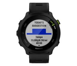 Zegarek sportowy Garmin Forerunner 55 czarny