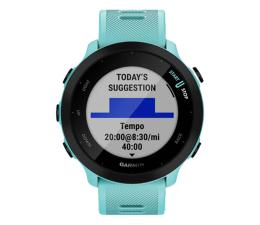 Zegarek sportowy Garmin Forerunner 55 turkusowy
