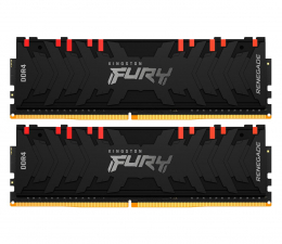Pamięć RAM DDR4 Kingston FURY 64GB (2x32GB)3200MHz CL16RenegadeRGB