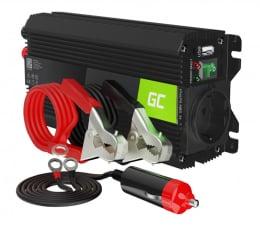 Przetwornica samochodowa Green Cell Inwerter Pro 12V na 230V 500W/1000W mod. sin.