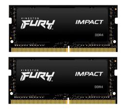 Pamięć RAM SODIMM DDR4 Kingston FURY 16GB (2x8GB) 2666MHz CL15 Impact