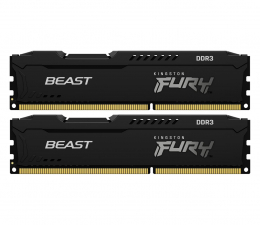 Pamięć RAM DDR3 Kingston FURY 16GB (2x8GB) 1600MHz CL10 BeastBlack
