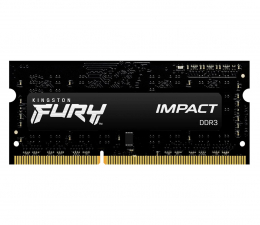 Pamięć RAM SODIMM DDR3 Kingston FURY 4GB (1x4GB) 1600MHz CL9Impact