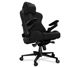 Fotel gamingowy Yumisu 2050X (Czarny) Tkanina