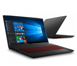 "Notebook / Laptop 17,3"" MSI GF75 i5-10500H/32GB/512/Win10 RTX3060 144Hz"