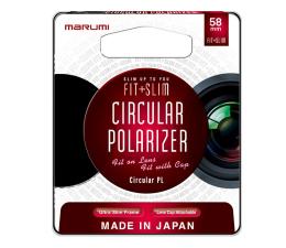 Filtr fotograficzny Marumi MCPL FIT + SLIM 58mm
