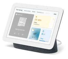 Inteligentny głośnik Google  Nest Hub 2 czarny