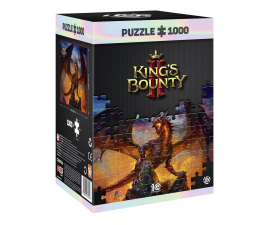 Puzzle z gier Good Loot King's Bounty II: Dragon puzzles 1000