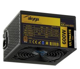 Zasilacz do komputera Akyga Ultimate 600W 80 Plus Bronze