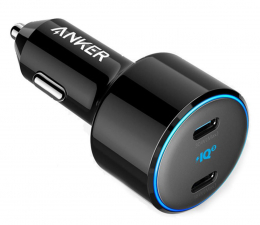 Ładowarka do smartfonów Anker PowerDrive+ III Duo Origin (2x USB-C, 45W)
