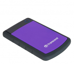 Dysk zewnętrzny HDD Transcend StoreJet 25 H3P 2TB USB 3.2 Gen. 1 Fioletowy