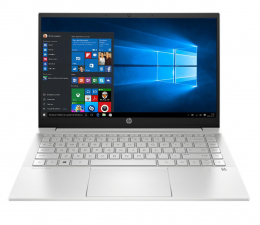 "Notebook / Laptop 14,1"" HP Pavilion 14 i5-1135G7/8GB/512/Win10 MX450 Silver"