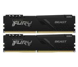 Pamięć RAM DDR4 Kingston FURY 32GB (2x16GB) 3000MHz CL16 Beast Black