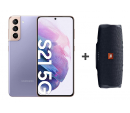 Smartfon / Telefon Samsung Galaxy S21 G991B 8/256 Violet 5G + JBL Charge 4