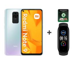 Smartfon / Telefon Xiaomi Redmi Note 9 3/64GB Polar White+Mi Band 5+Navitel