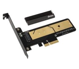 Kontroler Akasa PCIe x4 - 1x M.2