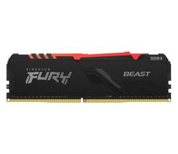 Pamięć RAM DDR4 Kingston FURY 8GB (1x8GB) 3200MHz CL16 Beast RGB