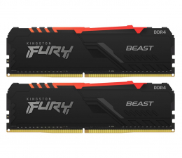 Pamięć RAM DDR4 Kingston FURY 32GB (2x16GB) 3600MHz CL18 Beast RGB