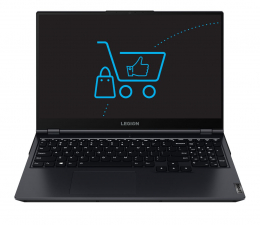 "Notebook / Laptop 15,6"" Lenovo Legion 5-15 Ryzen 5/16GB/512 RTX3050Ti 165Hz"