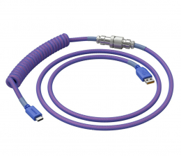 Kable do klawiatur Glorious PC Gaming Race Coil Cable Nebula USB-C - USB-A