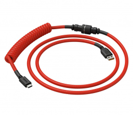 Kable do klawiatur Glorious PC Gaming Race Coil Cable Crimson Red USB-C - USB-A