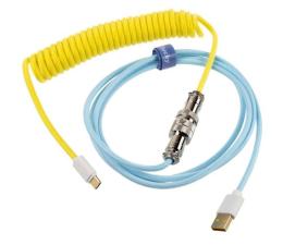 Kable do klawiatur Ducky Premicord Cotton Candy USB-C - USB-A