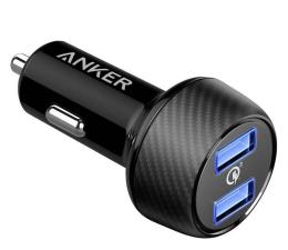 Ładowarka do smartfonów Anker Samochodowa PowerDrive Speed 2x USB-A (39W)