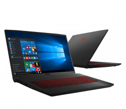 "Notebook / Laptop 17,3"" MSI GF75 i7-10750H/8GB/512/Win10X RTX3050 144Hz"
