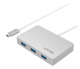 Hub USB Unitek USB-C 3.1 - 2x USB-A, USB-C PD 60W, 5Gbps
