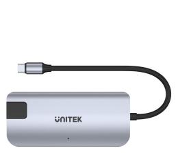 Hub USB Unitek USB-C 3.1 Gen2 - USB-C PD 100W, HDMI, RJ-45, USB-A